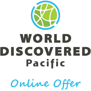 World Discovered Offer Logo